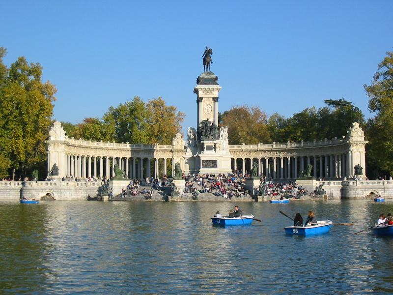 Parque do Retiro Madrid