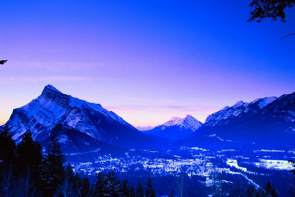 Winter Sunrise Banff