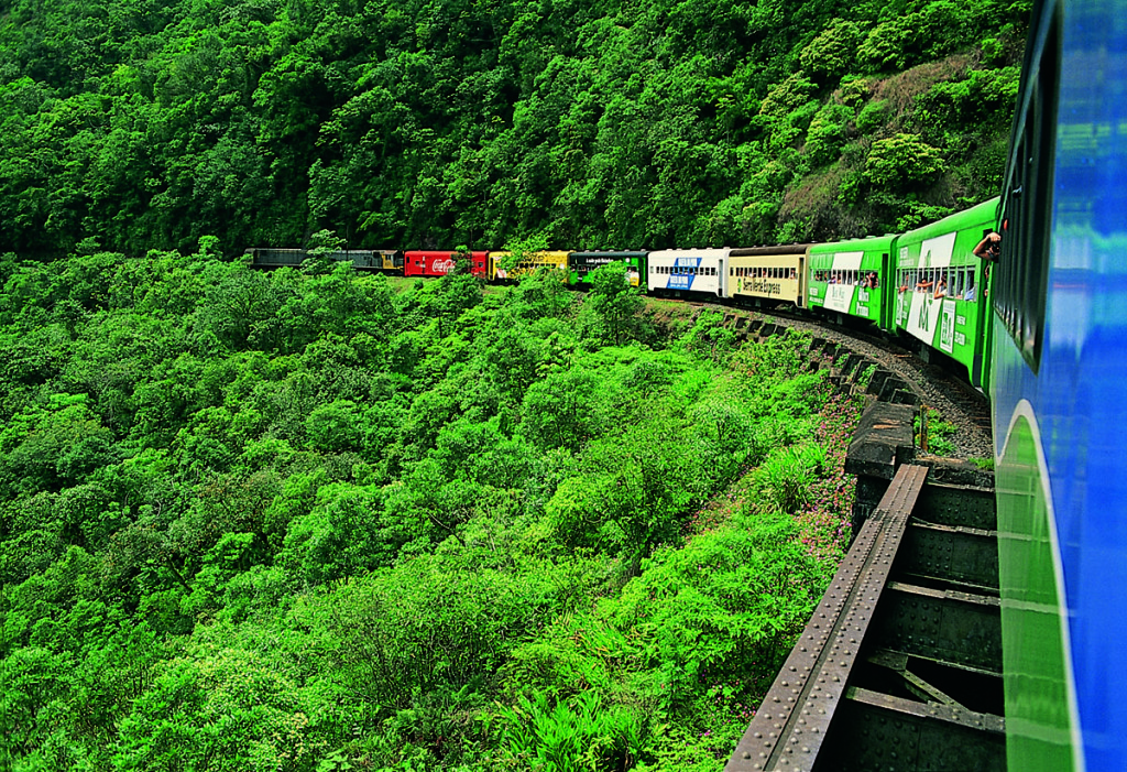Atlantic Rain Forest Trains