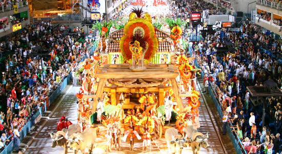Travels to Brazil Carnival In Rio de Janeiro